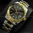 ROLEX ロレックス デイトジャスト メンズ腕時計 自動巻き 3針クロノグラフ 黒文字盤