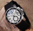 最旬アイテム 2015 CARTIER カルティエ 自動巻き  ムーブメント ラバー 腕時計 8色可選 021320