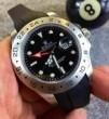 高級感溢れるデザイン 2015 ROLEX ロレックス 機械式(自動巻き)サファイヤクリスタル風防 男性用腕時計 4針クロノグラフ 日付表示