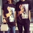 2015春夏 注目のアイテム GIVENCHY ジバンシー 半袖Tシャツ カップルペアルック