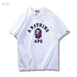 3色可選 ランキング商品 2017春夏 男女兼用 半袖Tシャツ ア ベイシング エイプ A BATHING APE