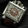 品質保証定番人気 GaGa MILANO ナポレオーネ ガガミラノ コピー メンズ 時計 腕時計 ウォッチ 男性用腕時計 シルバー ブラウン 5針