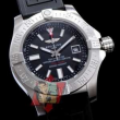 お得限定セールBREITLING ブライトリング 偽物 アベンジャーII GMT ブラックスチール M329B04VPB 日付表示 腕時計 2色可選
