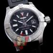 お得限定セールBREITLING ブライトリング 偽物 アベンジャーII GMT ブラックスチール M329B04VPB 日付表示 腕時計2色可選