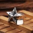 超激得格安CHROME HEARTSクロム ハーツ 偽物Ring-StarLargeスターリングラージ五芒星ボリュームフリーサイズ指輪