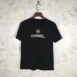 2018人気定番低価2色可選通気性良いCHANELシャネル tシャツ コピーロゴプリント男女兼用半袖カットソー
