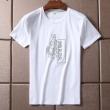 HOT本物保証半袖TシャツロゴプリントPRADAプラダコピー肉厚コットン生地カジュアルブランドコピーメンズtシャツ