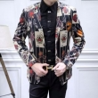 2018秋冬最安値高品質Dolce&Gabbanaドルガバ コピー総柄スーツテーラードジャケットビジネス紳士用通勤長袖