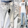 Dolce&Gabbana新作入荷2018ドルチェ&ガッバーナ コピーGYC4LZG8Y48S9001メンズストレッチジーンズデニムパンツ