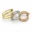 超激得限定セールCartierカルティエ リング コピー指輪ホワイトゴールドイエローゴールドピンクゴールドシンプルアクセサリー