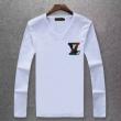 LOUIS VUITTONルイヴィトン tシャツ 偽物Vネックロングtシャツ品質保証大人気メンズファッション服