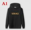 シンプルなデザインが魅力VERSACEヴェルサーチ トレーナー コピー36159304ロゴ入りメンズスウェットシャツ5色可選