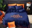 エルメスHERMESブランド コピー ベッドカバーとても軽くて柔らかい寝具3点セットベッド用ダブルサイズ選べる2カラー