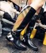 立ち上げより入荷! 便利な定番アイテム BURBERRY バーバリー 冬季超人気アイテム 長靴