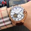 人気の商品 多色選択可 男性用腕時計 2018年モデル CARTIER カルティエ 機械式(自動巻き)ムーブメント重宝する