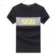 顧客優待セールFENDIフェンディ 偽物FFロゴプリントTシャツ丈夫なコットンを使用した半袖メンズ