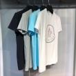 モンクレール tシャツ スーパーコピーMonclerクルーネックコットンジャージーのメンズ半袖マルチカラーのロゴ刺繍