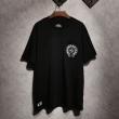 半袖Tシャツ 2019魅力的な新作 2色可選 CHROME HEARTSオシャレにまとめる逸品クロムハーツ