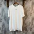 2019春夏新作Off-Whiteオフホワイト tシャツ コピーメンズホワイトのコットンジャージのクルーネック半袖