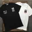 2019ssの新作OFF-WHITEオフホワイト tシャツ コピーMONALISAプリントコットン半袖メンズomaa027s191850051020