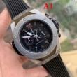 HUBLOTウブロ 時計 コピーセレブの間でも人気の男性用腕時計スポーツウォッチラバー素材ストラップ