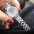 ブランド コピー 腕時計 コピースーパー コピーエレガントなレディースウォッチ3針クロノグラフダイヤモンド文字盤