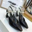 お出かけ歩きやすい DIOR ディオール コピー 靴 パンプス サイズ感 素敵 オシャレ スリングバックシューズ 新作 セール