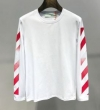 Off-White オフホワイト 長袖Tシャツ 2色可選 高い品質を誇る 爆発的な人気 19春夏最新モデル