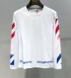2019年春の新作コレクション Off-White オフホワイト 長袖Tシャツ 2色可選 春先に注目を集める