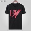 アルマーニ メンズ tシャツ 今年で大定番の人気新品 コピー Emporio Armani 4色可選 ストリート カジュアル 品質保証