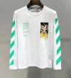 Off-White オフホワイト 長袖Tシャツ 2色可選 2019年新作通販 唯一無二の存在 人気が拡大中