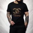 シャネル tシャツ メンズ 目を引くコーデに一番オススメ コピー CHANEL 格安 ブラック ホワイト ストリート お買い得