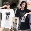 Dior tシャツ レディース ストリートファッションの着こなし コピー ディオール 黒白2色 ユニーク リーズナブルな価格