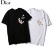 ディオール Dior メンズ tシャツ トレンド感たっぷり コピー ブラック ホワイト カジュアル コーデ 日常 最安値 933J611A0554_C989