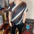 フェンディ tシャツ コピー お気に入りの大定番アイテム メンズ FENDI プリント 上質 カジュアル コーデ 通勤通学 安価