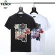 ブランド 通販 店_FENDI フェンディ メンズ tシャツ 世界中で大好評限定モデル コピー Karl Kollage ブラック ホワイト コーデ プリント セール