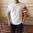 フェンディ tシャツ コピー 春夏に着こなしやすい人気新品 メンズ FENDI ブラック ホワイト ロゴ 通気性抜群 お手頃な価格