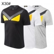 フェンディ tシャツ コピー オシャレな雰囲気が漂うアイテム メンズ FENDI 安価 日常っぽい プリント 3色可選 品質保証