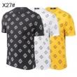 FENDI メンズ tシャツ 清潔感のある着こなしに フェンディ コピー 3色可選 2019人気 日常っぽい カジュアル モノグラム 安価