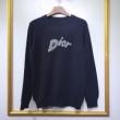 ディオール メンズ セーター シンプルで素敵なコーデにつくれる限定品 Dior コピー ブラック ロゴ入り デイリー 最低価格