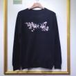 ディオール Dior セーター 大人らしいオシャレを楽しめるアイテム ユニセックス ブラック コピー ロゴ 最安値 933M642CT049_C980