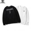 CHANEL スウェット 日常的な着こなしに合わせやすい シャネル 服 レディース コピー ブラック ホワイト カジュアル お買い得