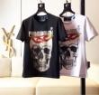 2色可選フィリッププレイン PHILIPP PLEIN2019年夏の一押しファッションアイテム Tシャツ/半袖 綺麗なライン