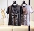 2019春夏は人気定番  Tシャツ/半袖  2色可選フィリッププレインオールシーズン使える  PHILIPP PLEIN