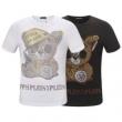 PHILIPP PLEIN 2019春夏人気トレンドアイテム Tシャツ/半袖 毎日のご使用にぴったり2色可選フィリッププレイン