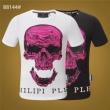 2色可選フィリッププレイン PHILIPP PLEIN《2019年》今、注目のストリート Tシャツ/半袖 肌触りが気持ちのよい素材