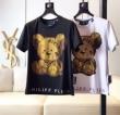 高度なデザイン  PHILIPP PLEIN Tシャツ/半袖 VIP 先行セール2019年夏 2色可選フィリッププレイン