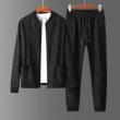 VERSACE セットアップ シンプルなおしゃれを格上げ ヴェルサーチ 服 メンズ コピー ブラック デイリー 着回し 最高品質