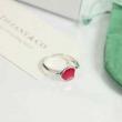 リング レディース Tiffany & Co コーデを華奢に仕上げるアイテム ティファニー コピー レッド ピンク ハート コーデ お買い得