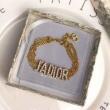 J'ADIOR ディオール レディース ブレスレット 手首を華やかに彩る限定品 コピー ゴールド デイリー コーデ ロゴ入り 品質保証